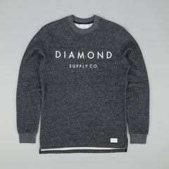 Diamond Stone Cut Long Sleeve Football Top