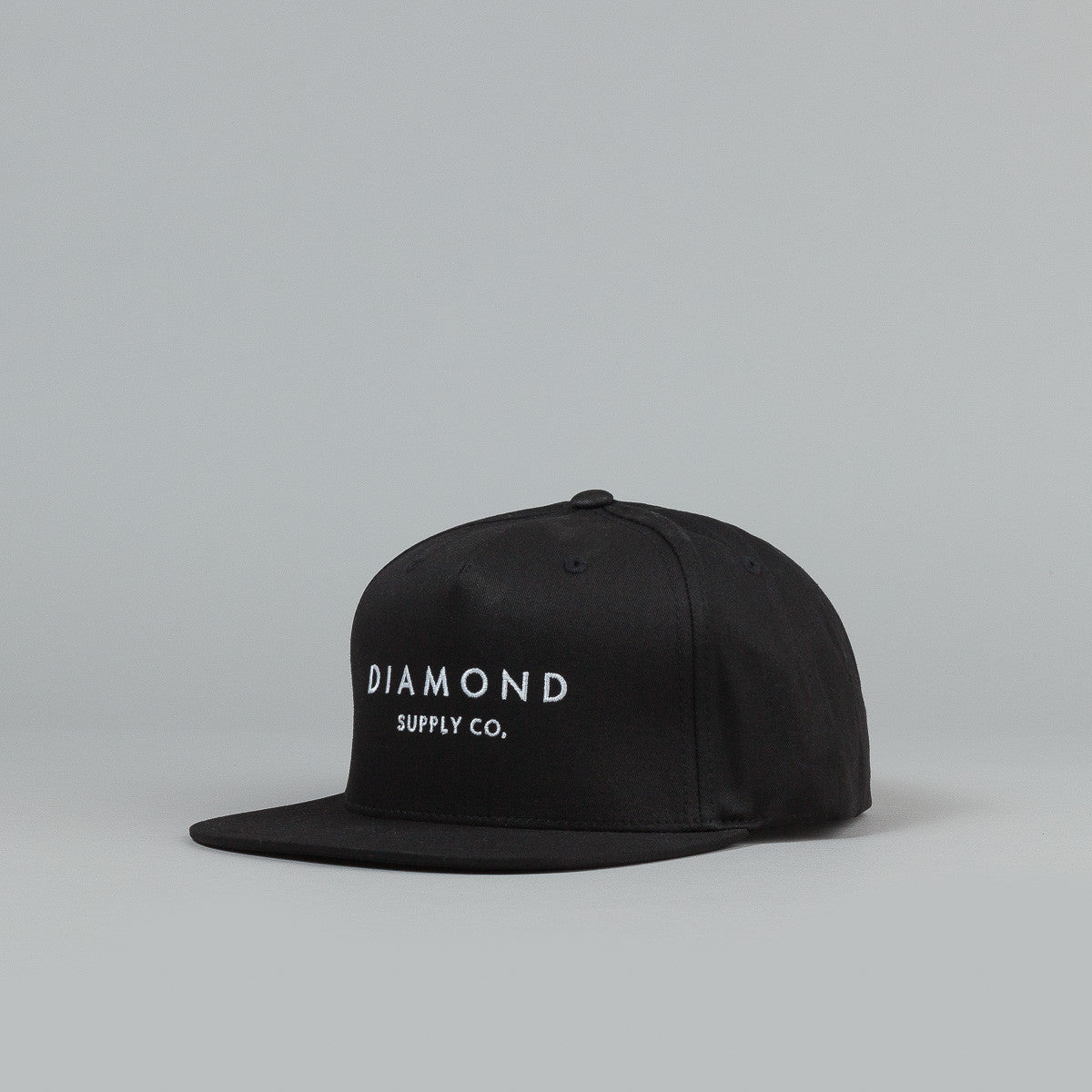 Diamond Stone Cut Snapback Cap