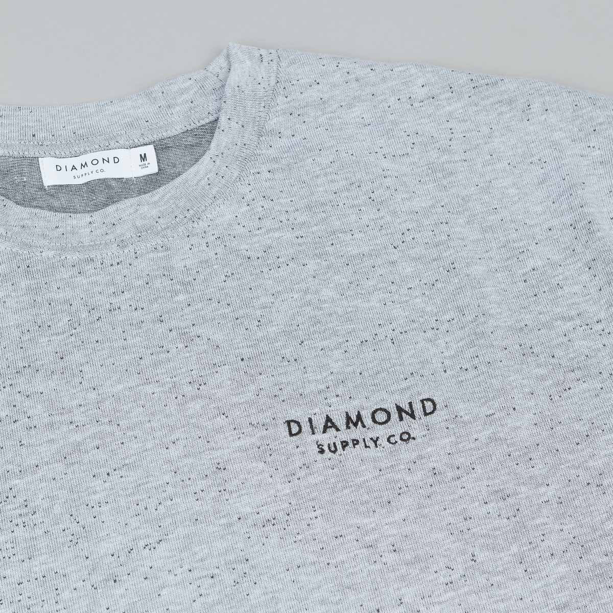 Diamond Stone Cut Speckle T-Shirt - Salt