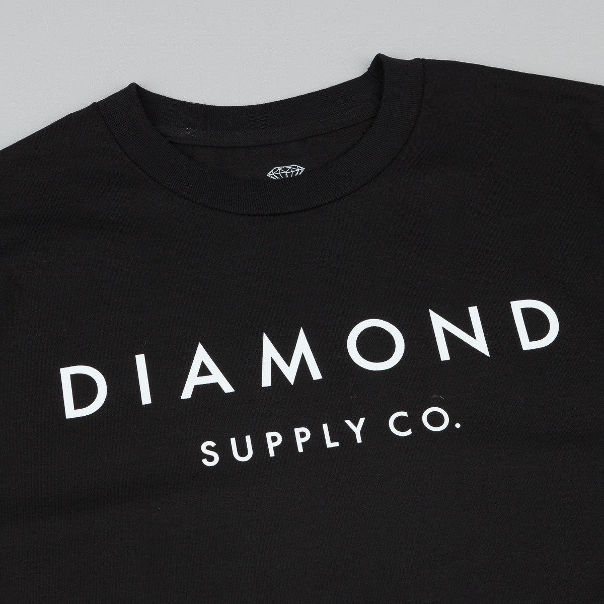 Diamond Stone Cut T-Shirt - Black