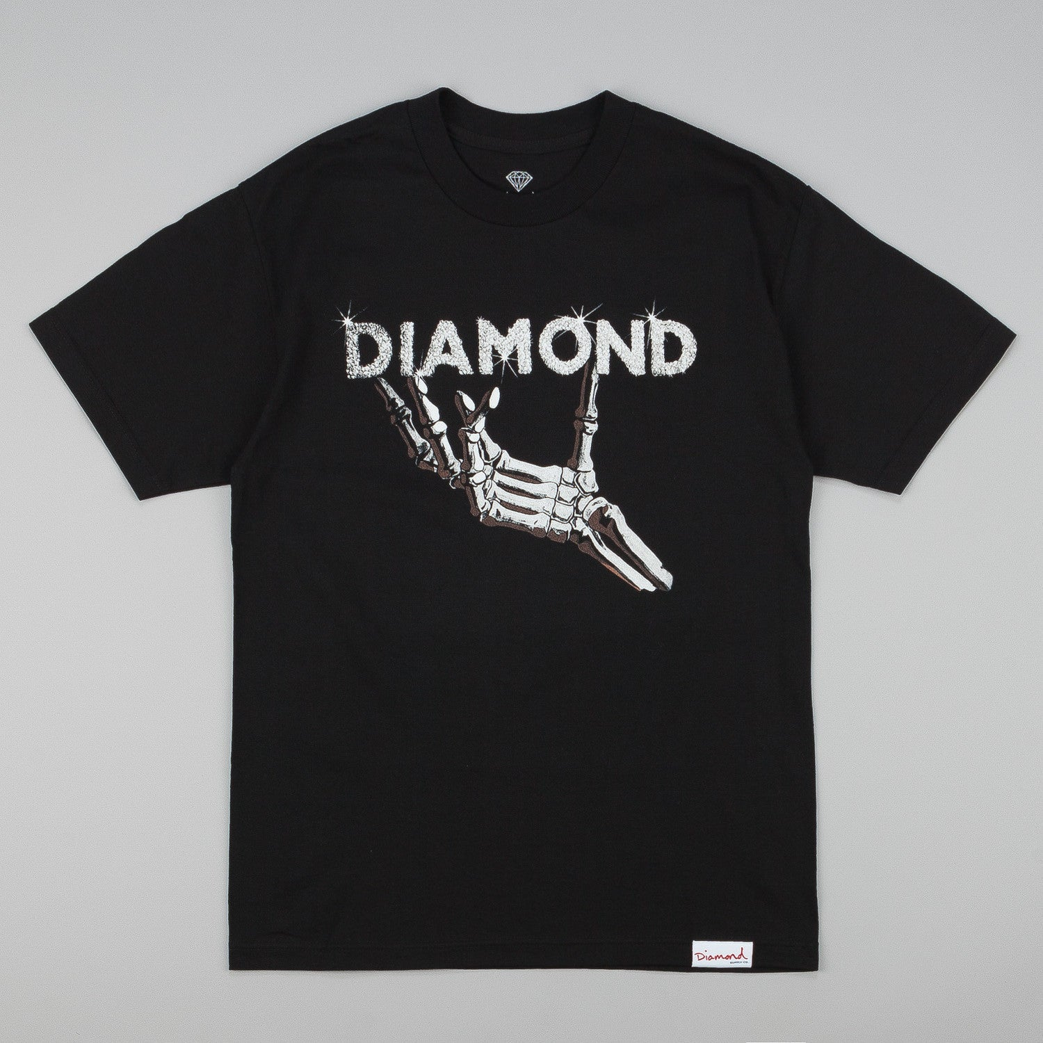 Diamond Styx and Stones T-Shirt Black