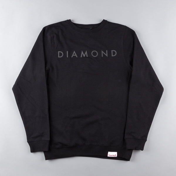 Diamond Tonal Crewneck Sweatshirt