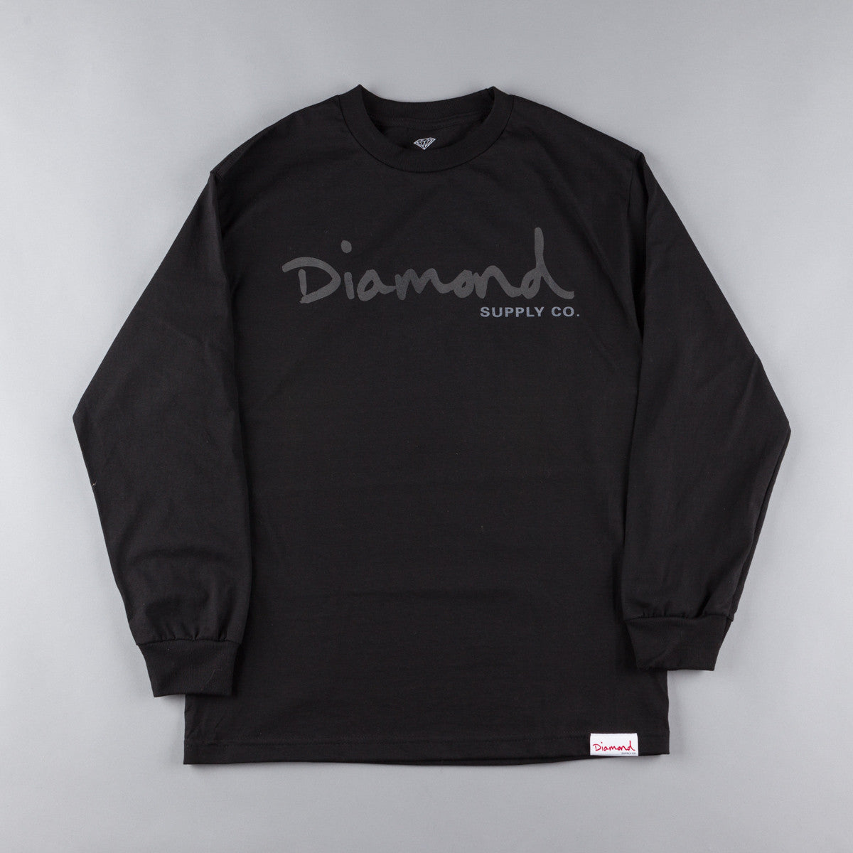 Diamond Tonal OG Script Long Sleeve T-Shirt