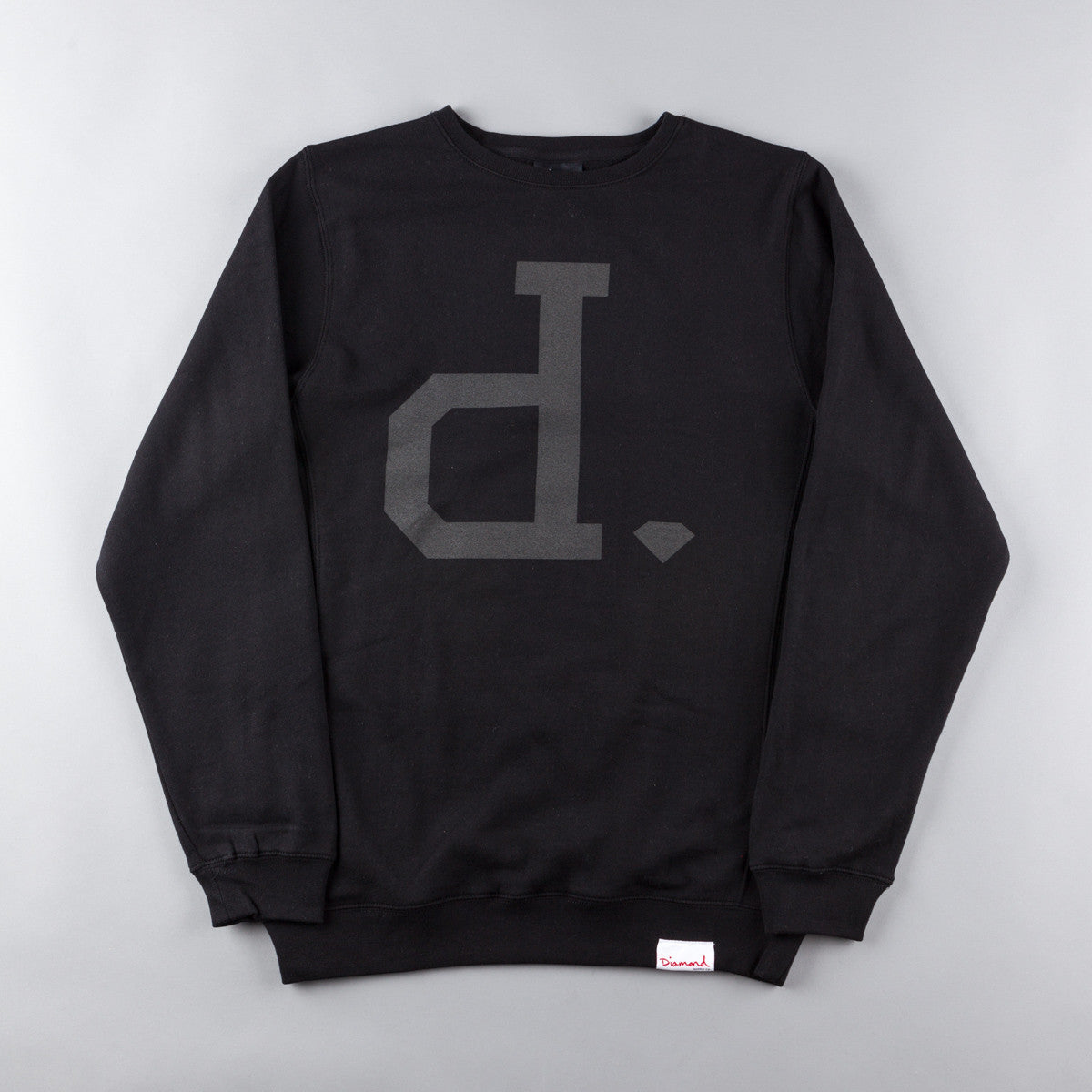Diamond Tonal Un-Polo Crewneck Sweatshirt