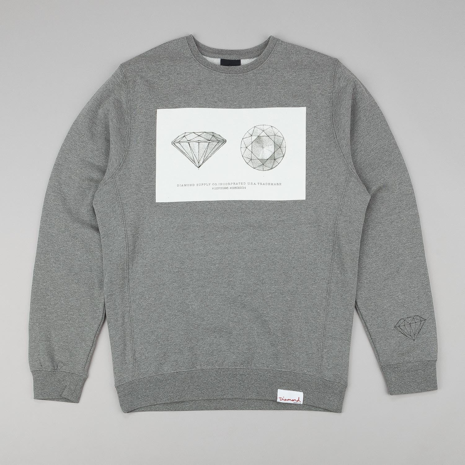 Diamond Trademark Crew Neck Sweatshirt