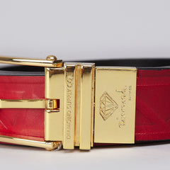 Diamond Traditional Belt Red