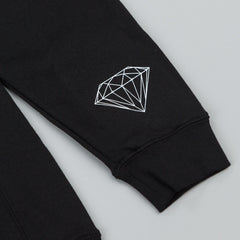 Diamond Tropical Crew Neck Sweatshirt - Black