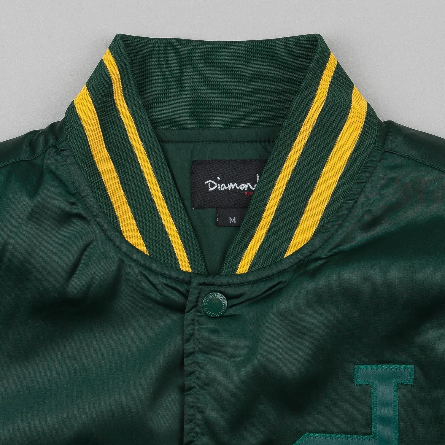 Diamond Un-Polo Team Jacket Green