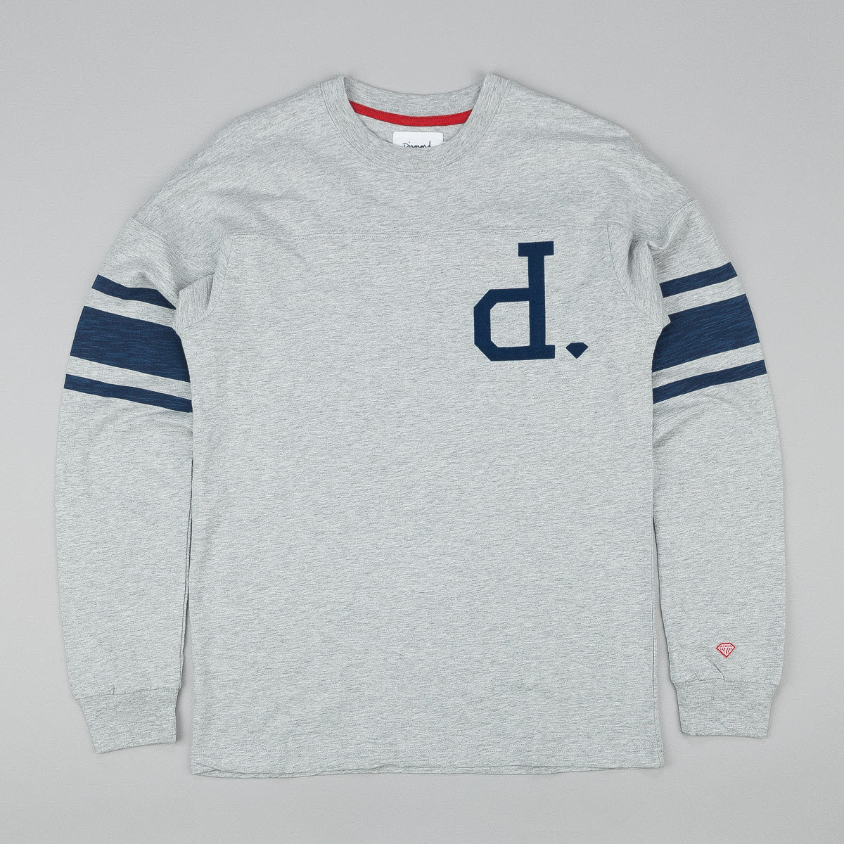 Diamond Un-Polo Football Long Sleeve Top