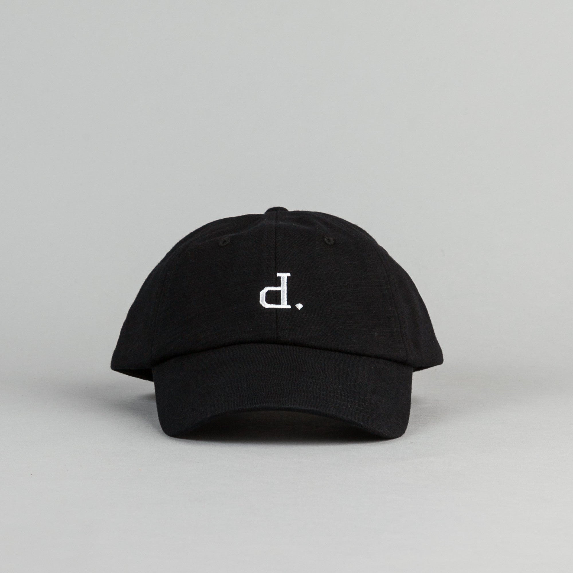 Diamond Un-Polo Sports Strapback Cap - Black