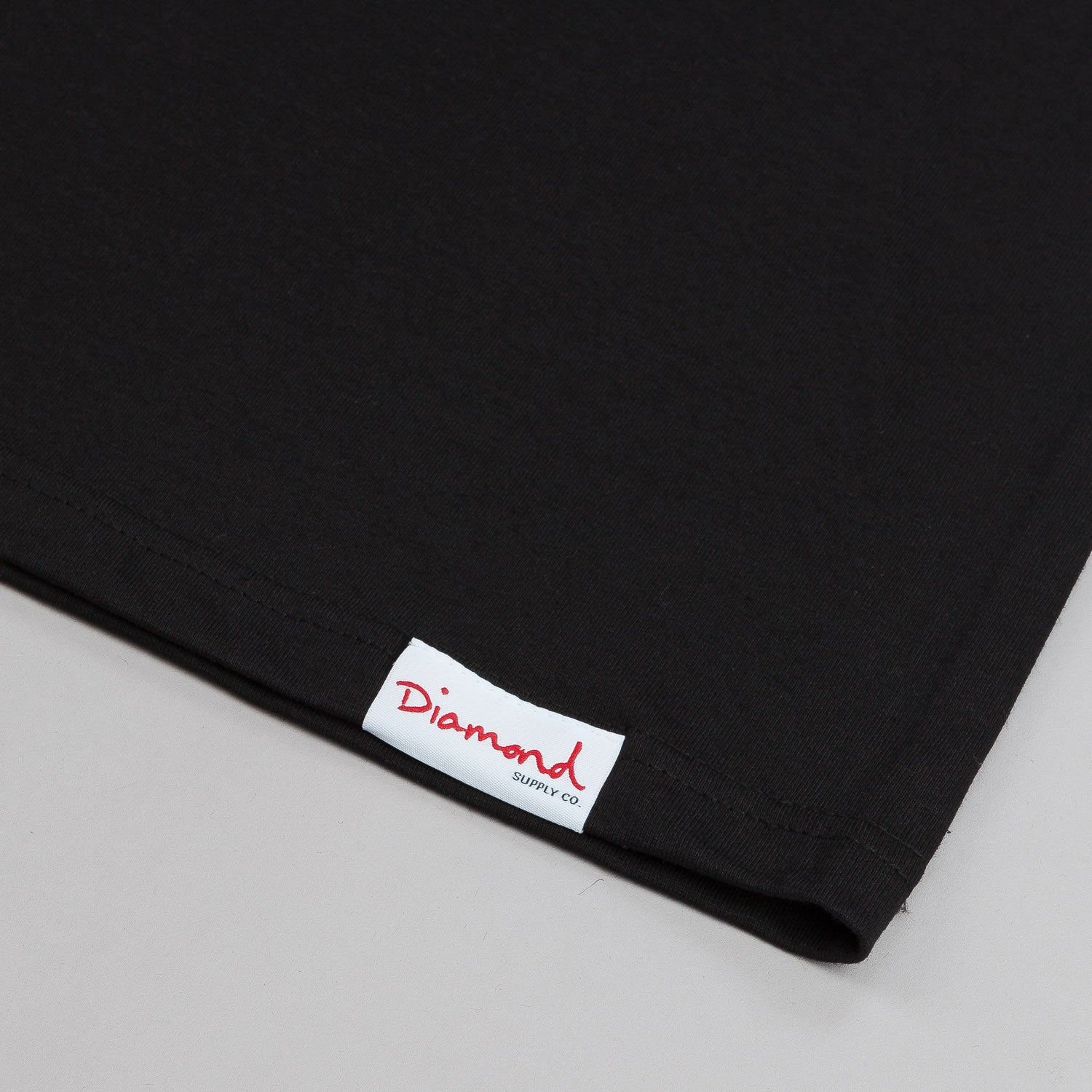 Diamond Un-Polo T-Shirt - Black