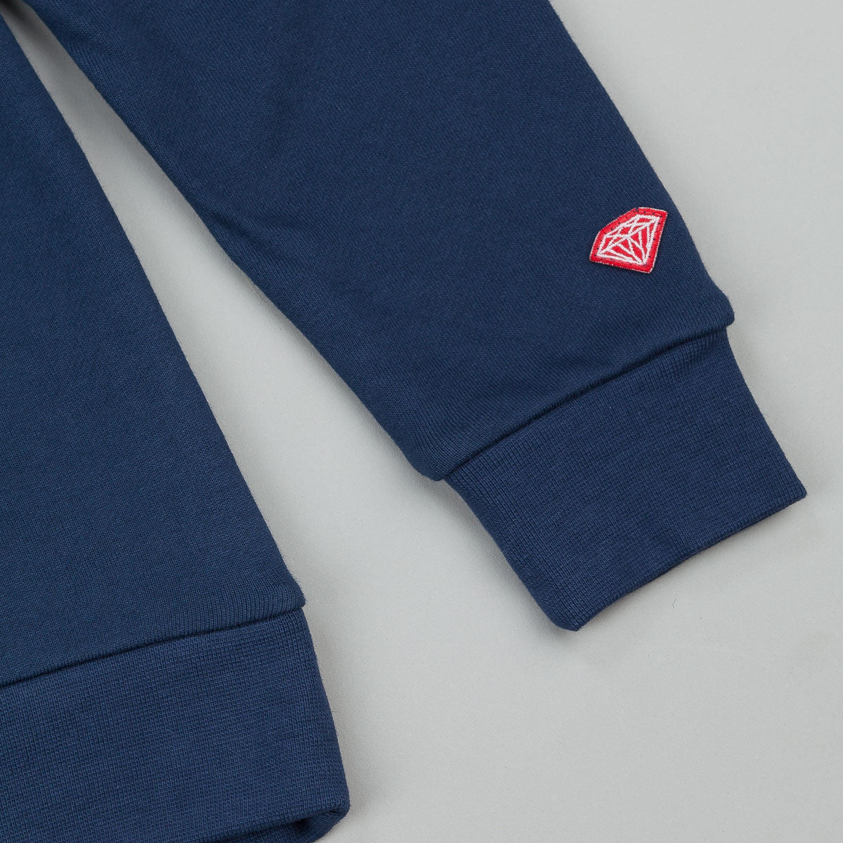 Diamond Unpolo Hooded Sweatshirt - Navy