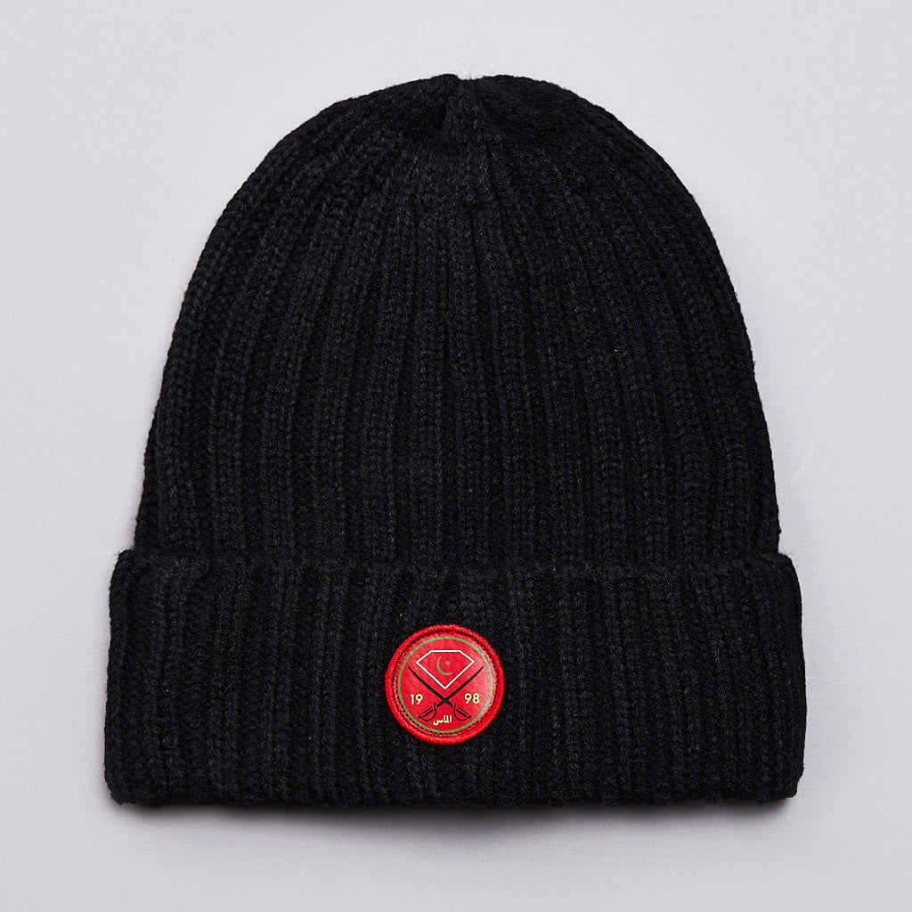 Diamond Victory Swords Beanie Black