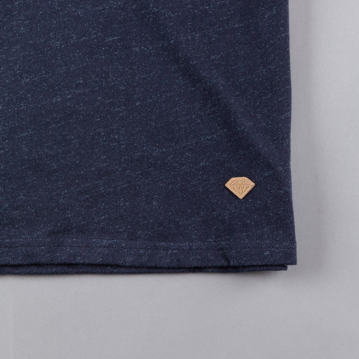 Diamond Facet Pocket T-Shirt - Navy