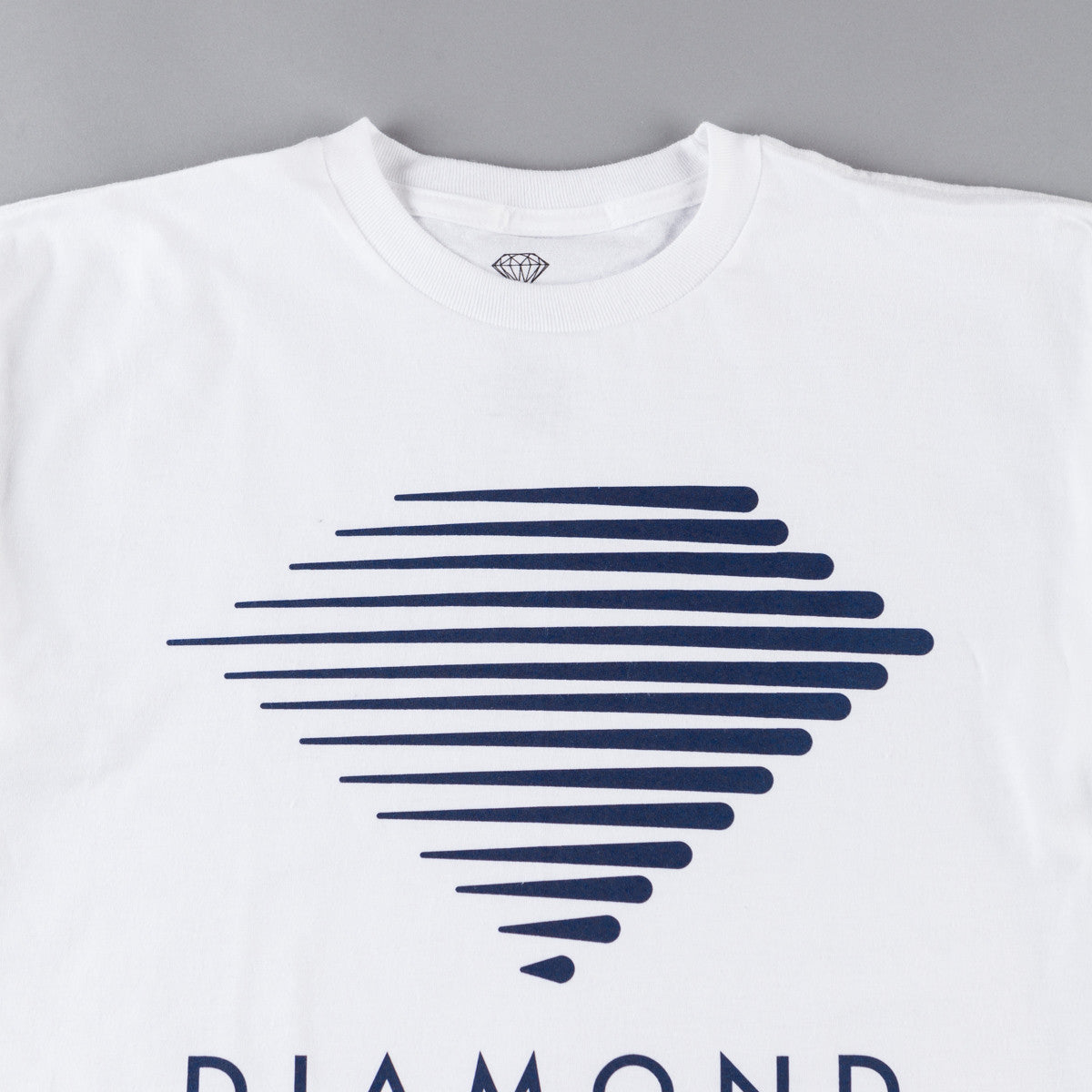 Diamond Westwind Logo T-Shirt - White