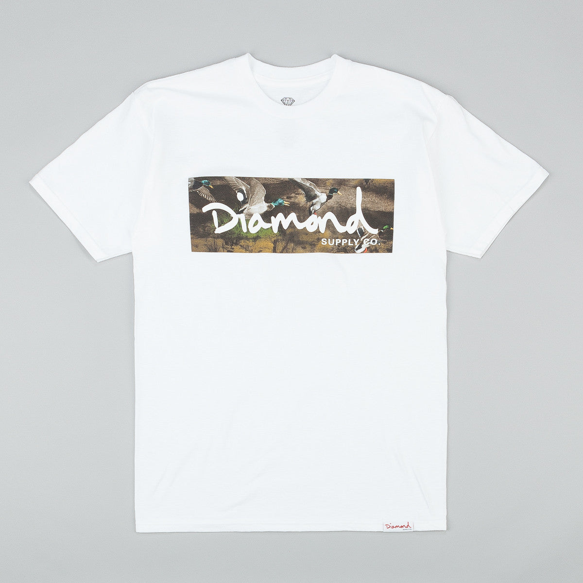 Diamond Woodland T-Shirt - White