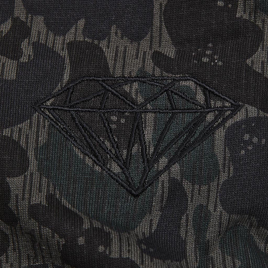 Diamond Rainfrog Camo Sweatpants Black Camo