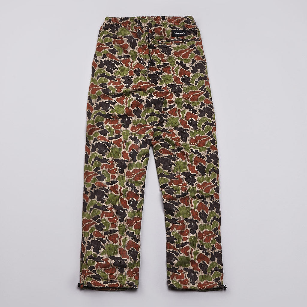 Diamond Rainfrog Camo Sweatpants Tan Camo