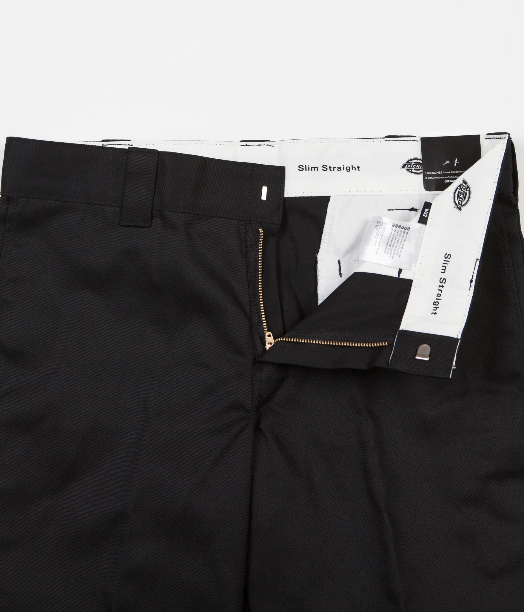 Dickies 273 Slim Fit Work Shorts - Black