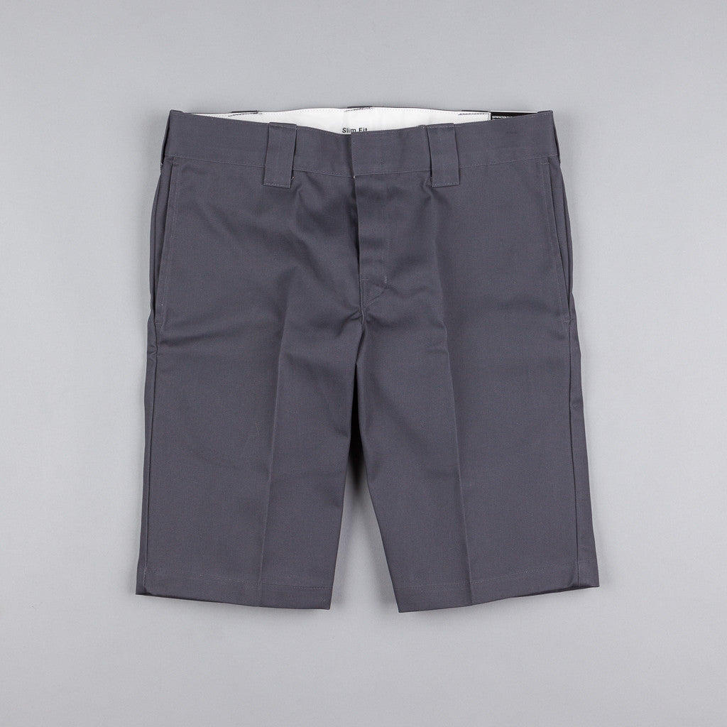 Dickies 273 Slim Fit Work Shorts - Charcoal Grey