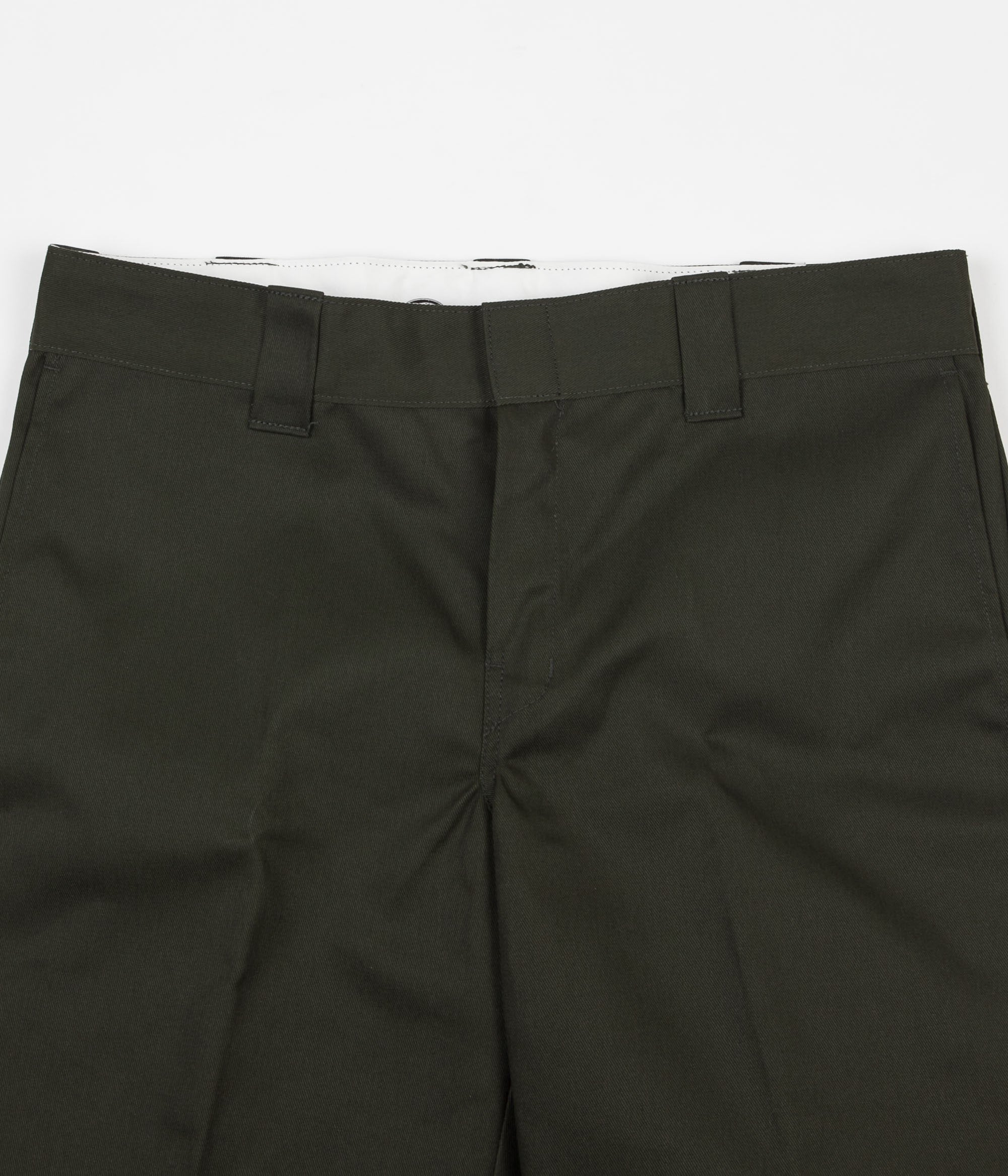 Dickies 273 Slim Fit Work Shorts - Olive Green