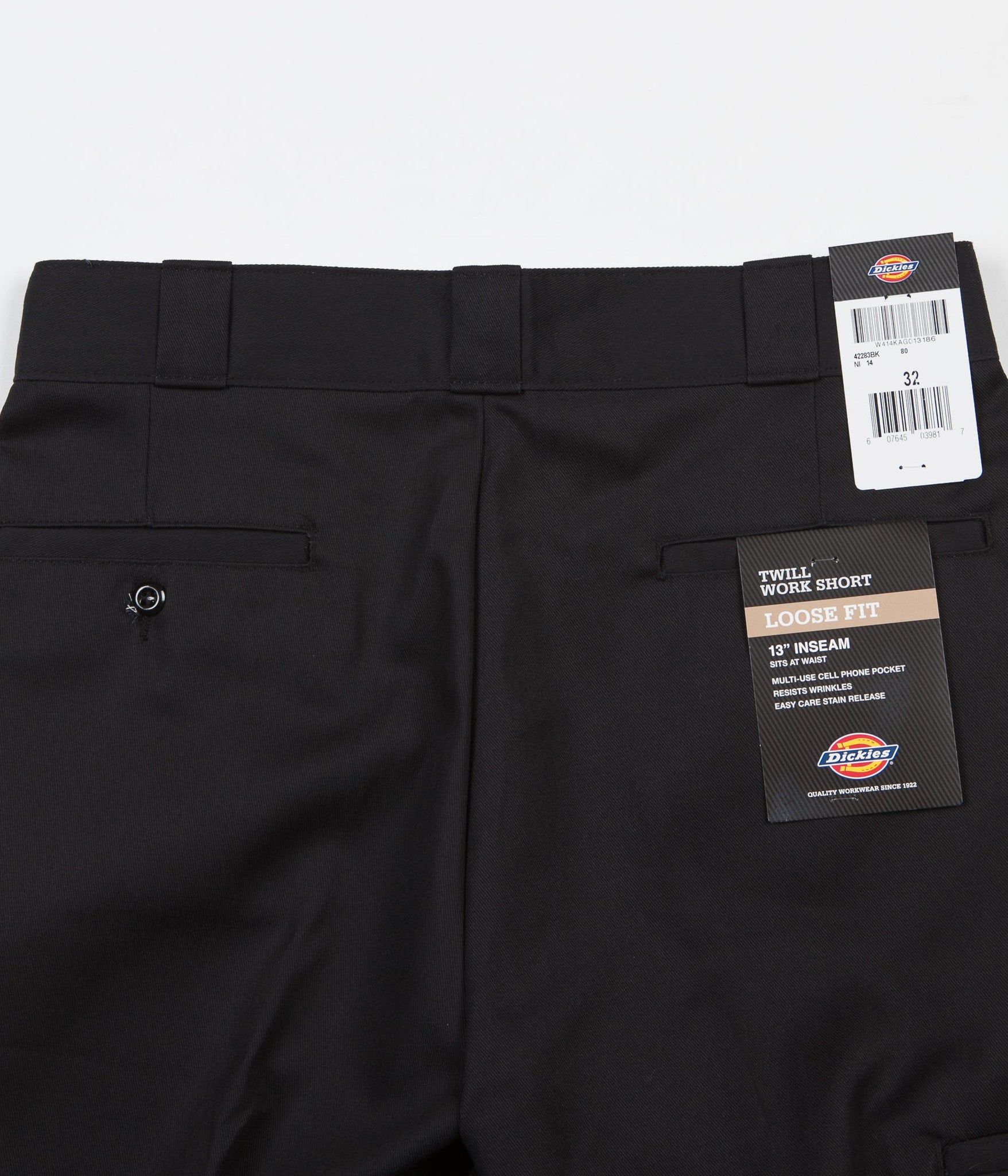e43e4cea4b6 ... Dickies 283 Multi Pocket Work Shorts - Black ...