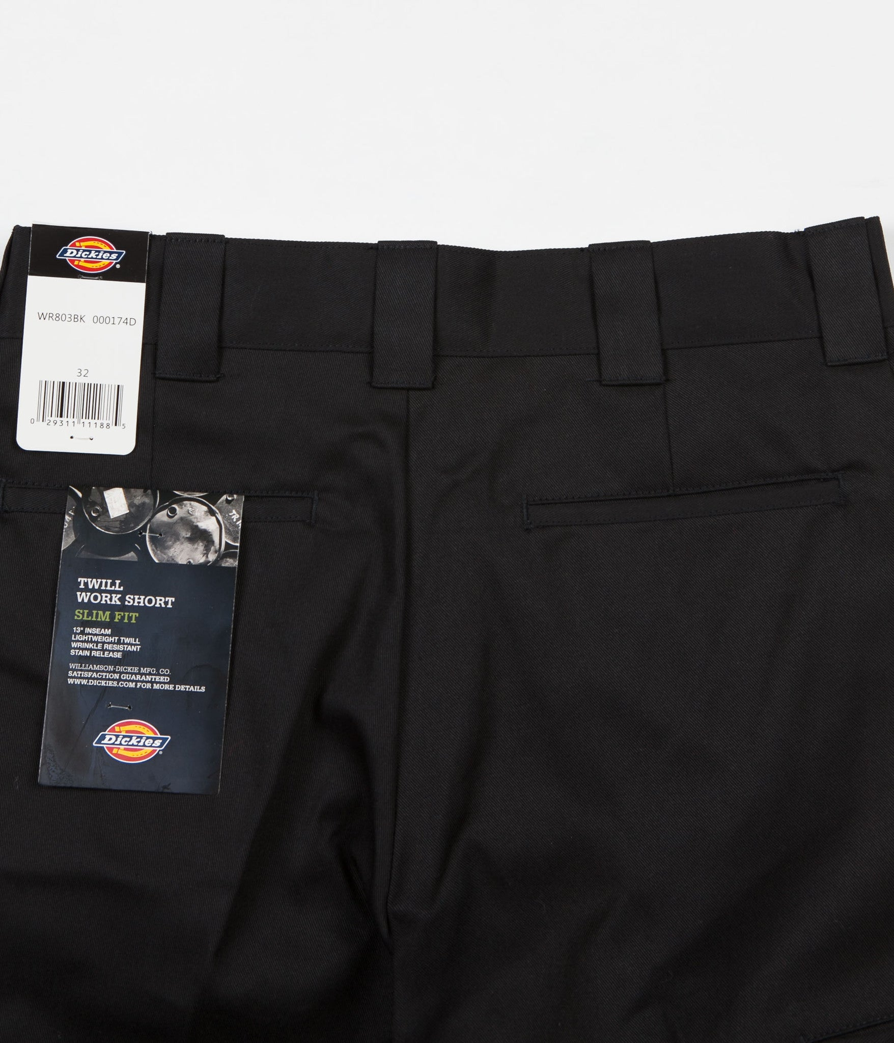 "Dickies 803 Slim 13"" Shorts - Black"