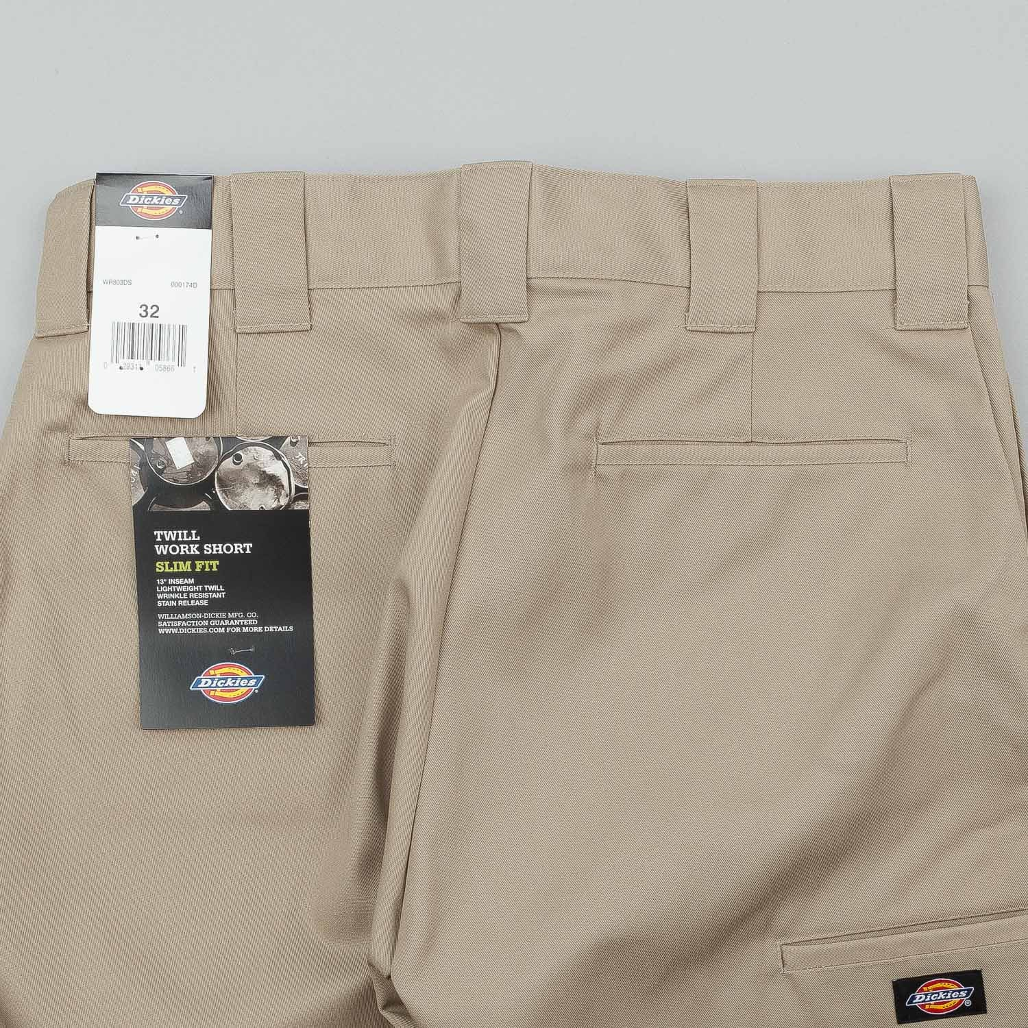 "Dickies 803 Slim 13"" Shorts - Desert Sand"