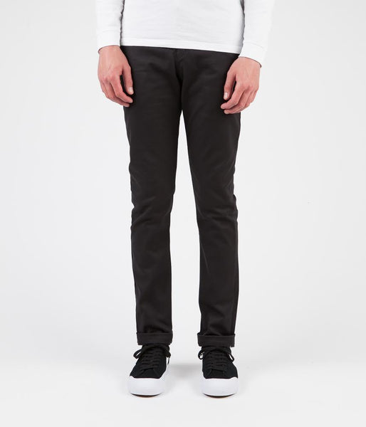 Dickies 803 Slim Skinny Work Trousers - Black