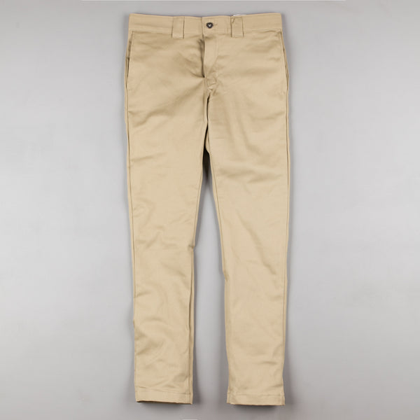 Dickies 803 Slim Skinny Work Trousers - British Tan