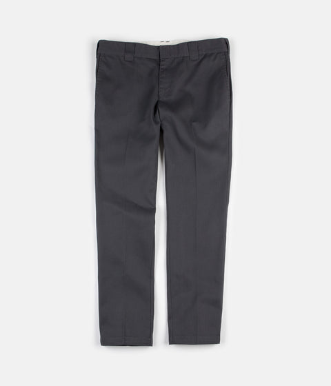 505b97c6b190 Dickies 872 Slim Work Trousers - Charcoal Grey