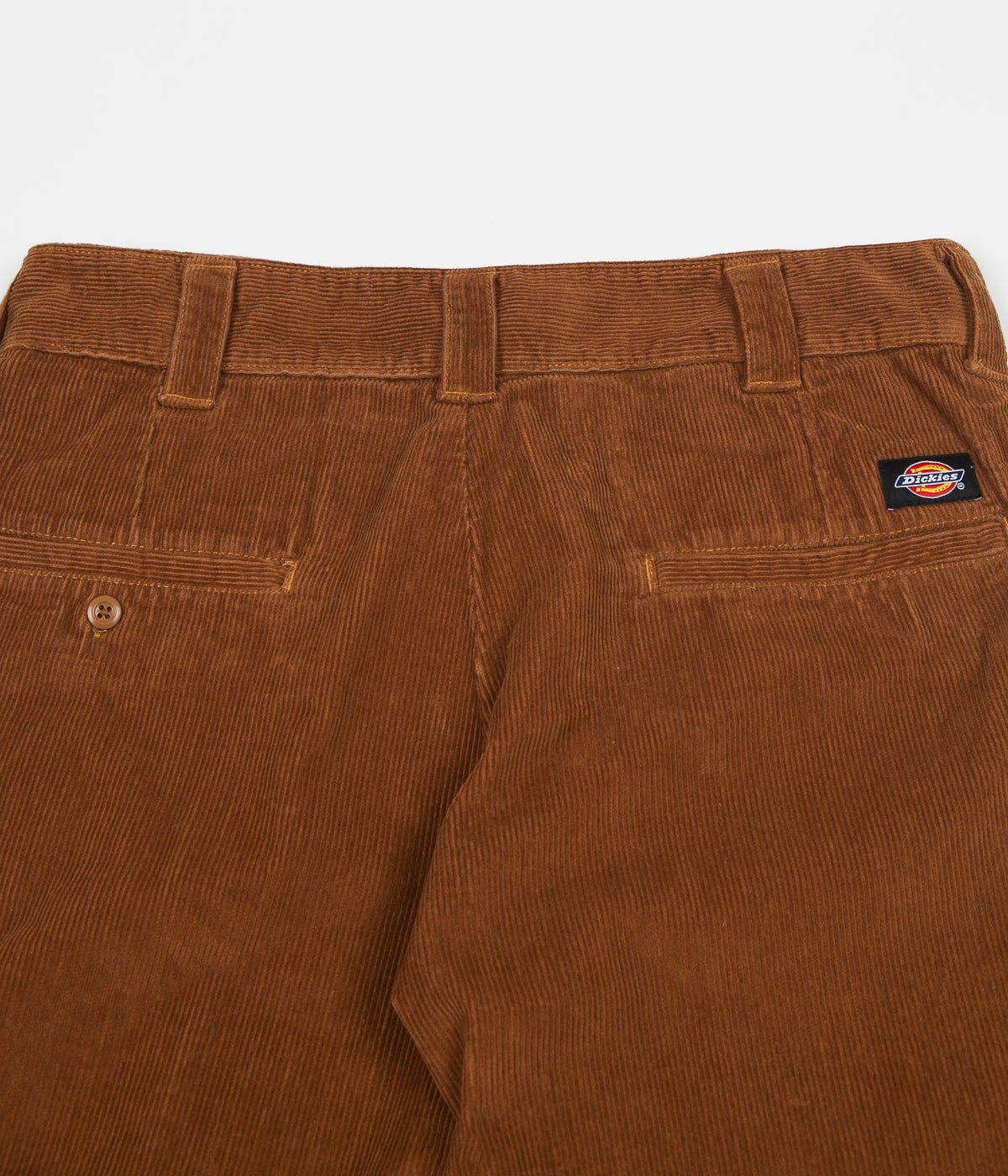 Dickies 873 Cord Trousers - Brown Duck