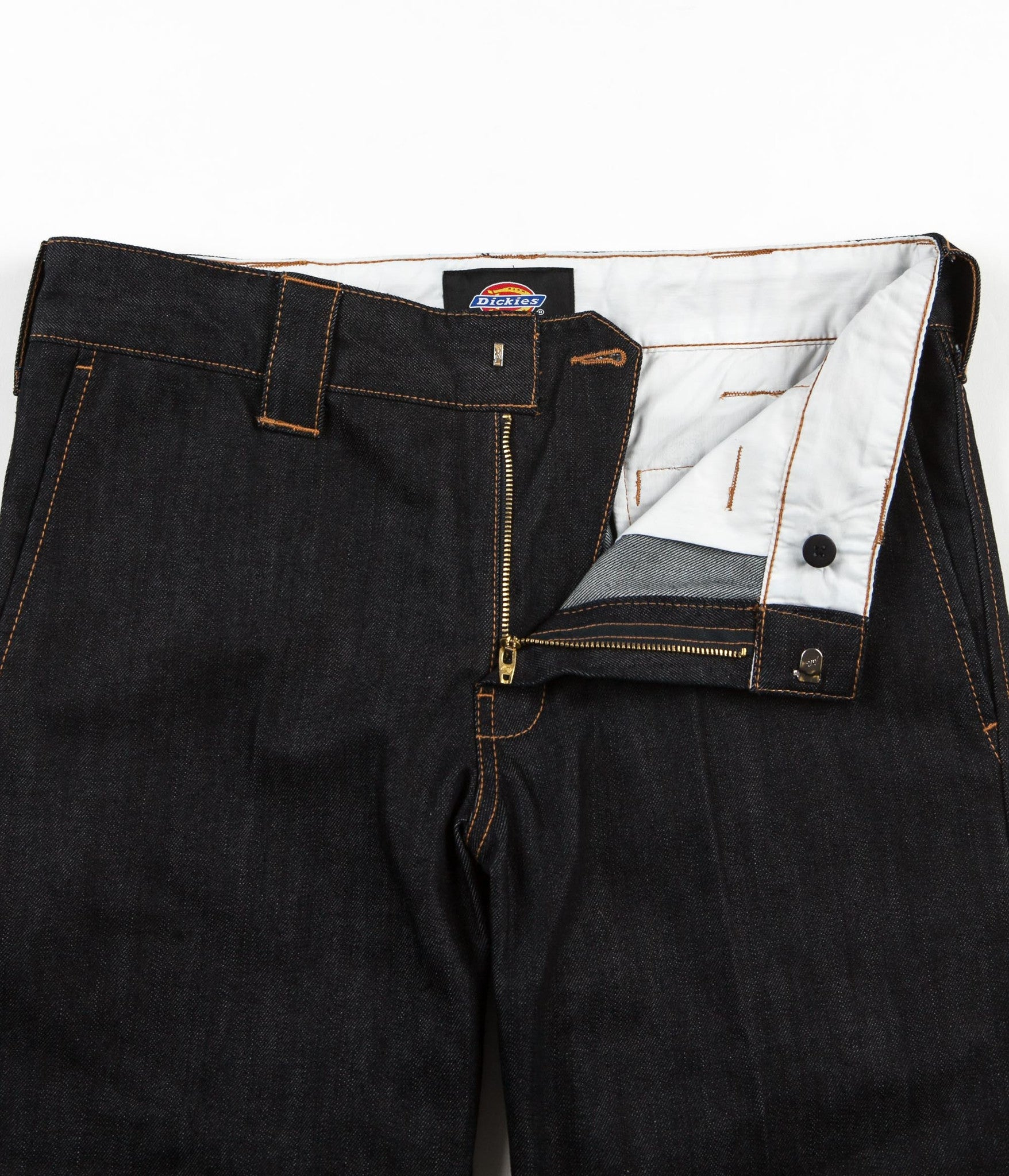 Dickies 873 Denim Work Trousers - Rinsed