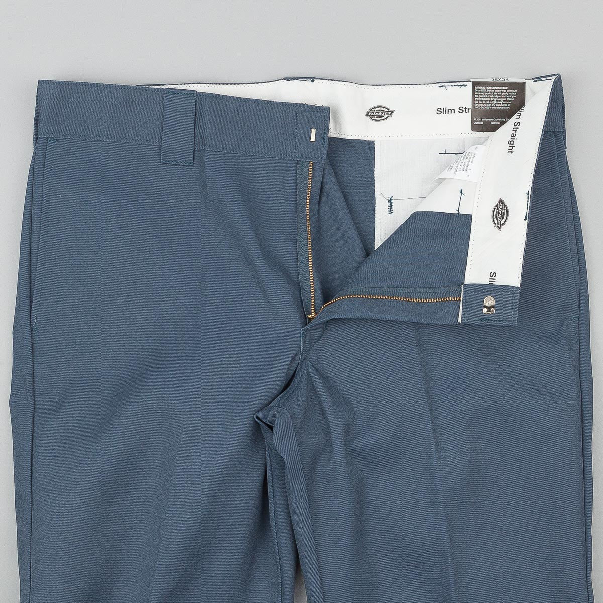 Dickies 873 Slim Straight Work Trousers - Air Force Blue