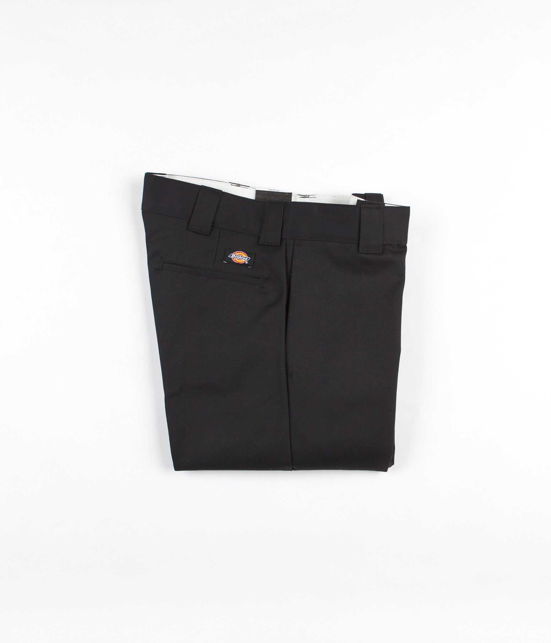 Dickies 873 Slim Straight Work Trousers - Black