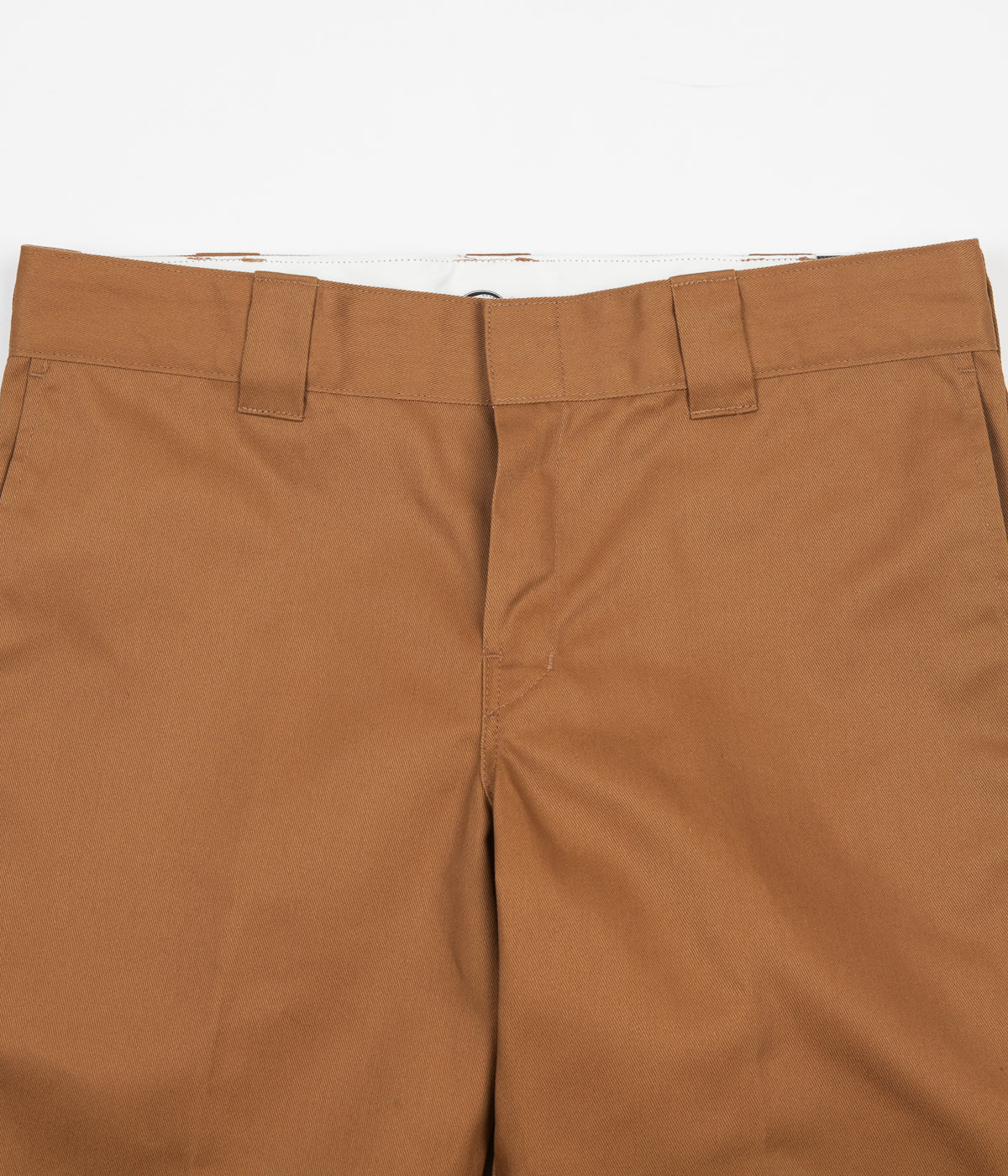 Dickies 873 Slim Straight Work Trousers - Brown Duck