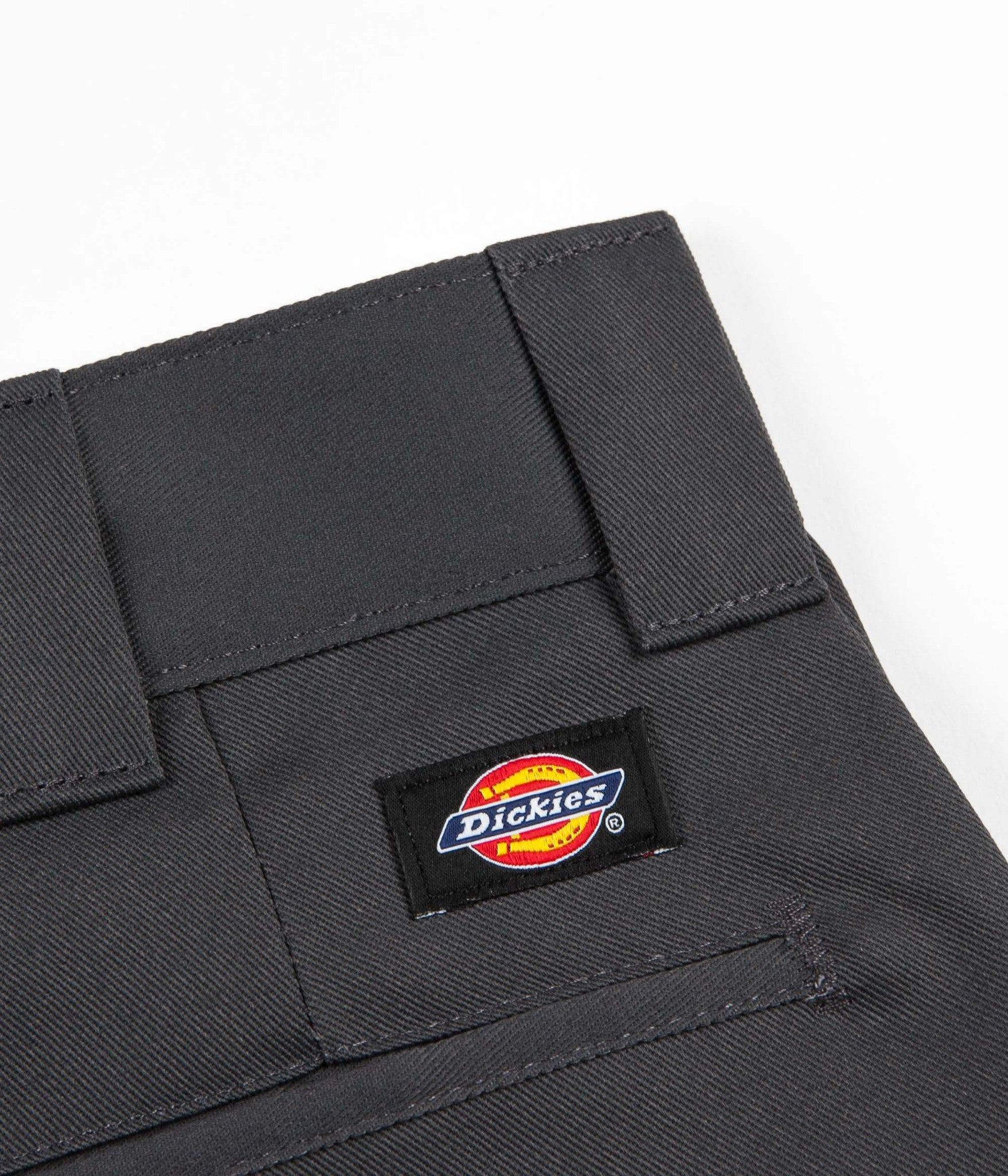 Dickies 873 Slim Straight Work Trousers - Charcoal Grey