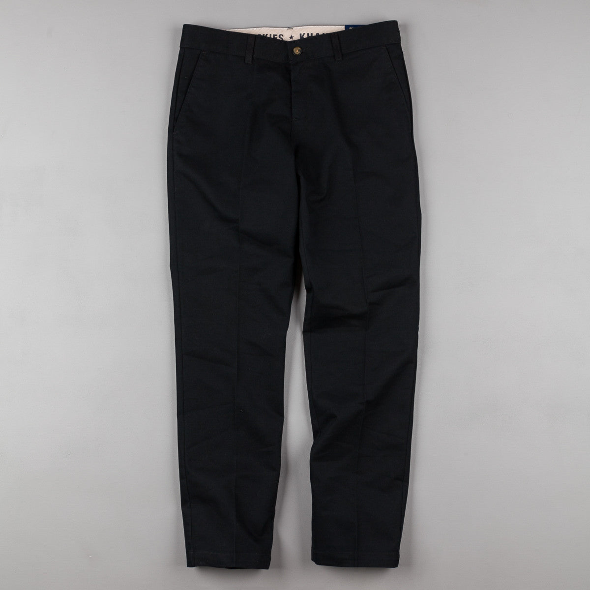 Dickies 900 Slim Khaki Trousers - Black