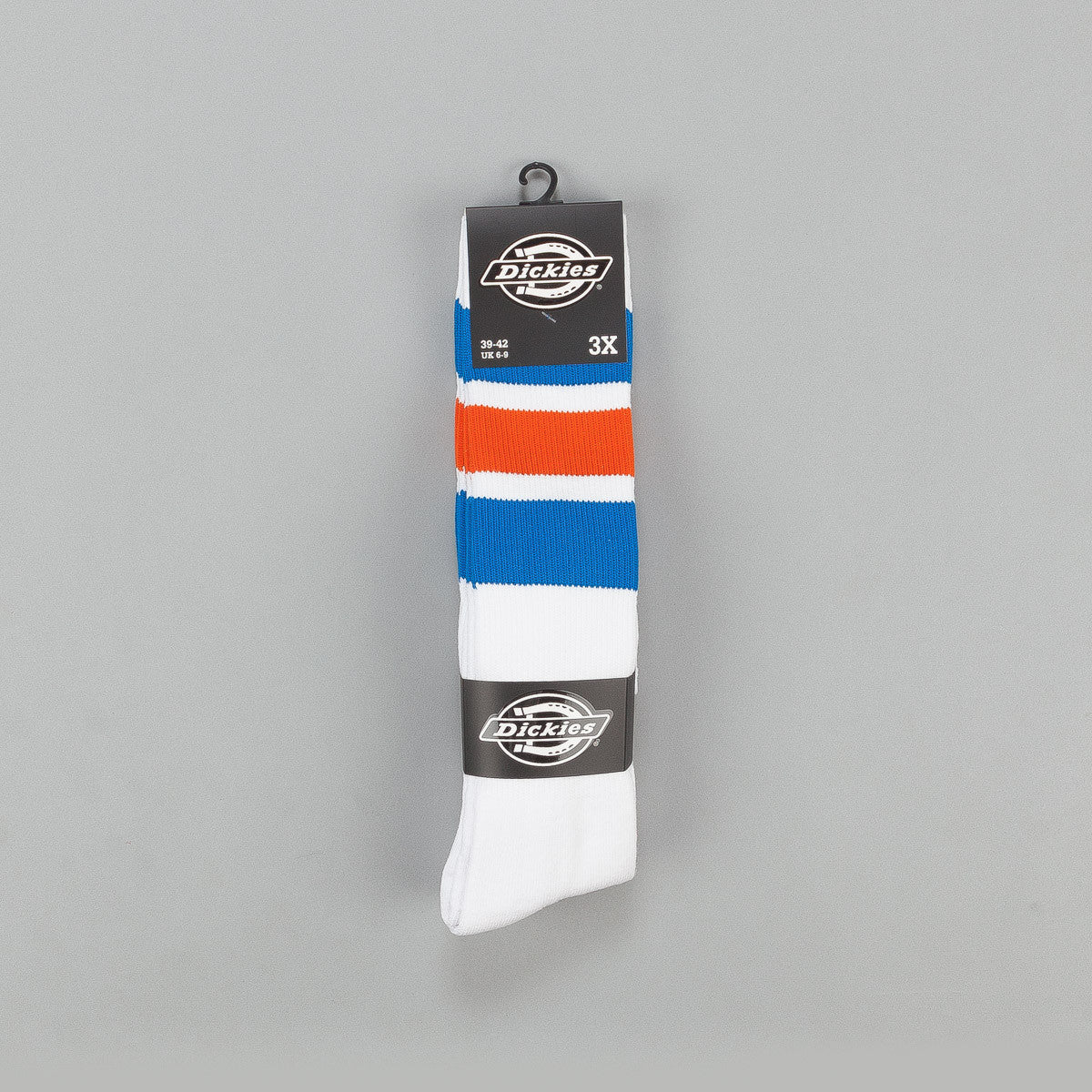 Dickies Atlantic City Socks 3 Pack Royal Blue