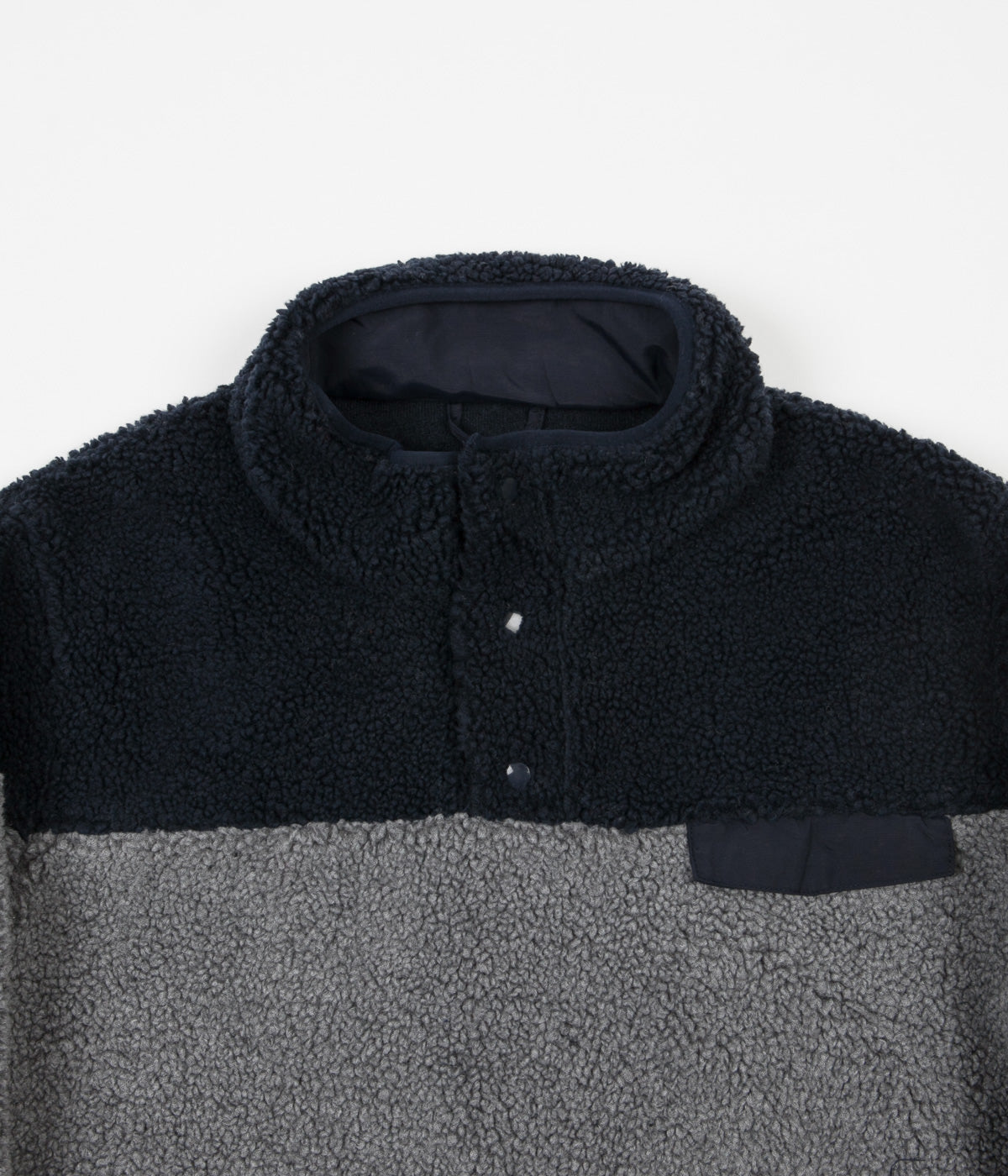 Dickies Bernville Fleece Sweatshirt - Dark Grey Melange