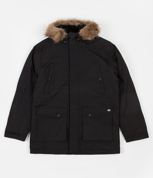 b8c11cf0b6fe7 Dickies Curtis Jacket - Black | Flatspot