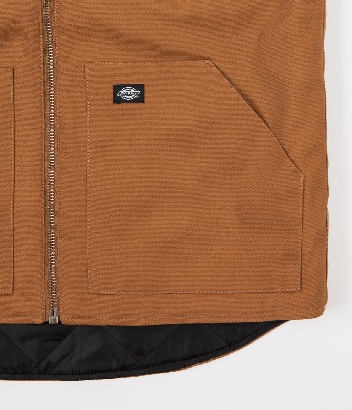 Dickies Dellwood Vest - Brown Duck