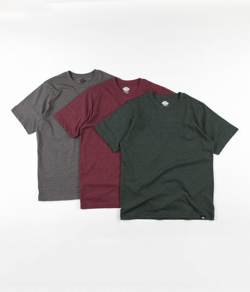 Dickies Hastings T-Shirt Pack Of Three - Assorted Colours