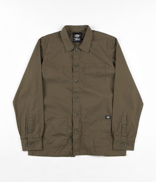Dickies Kempton Shirt - Dark Olive