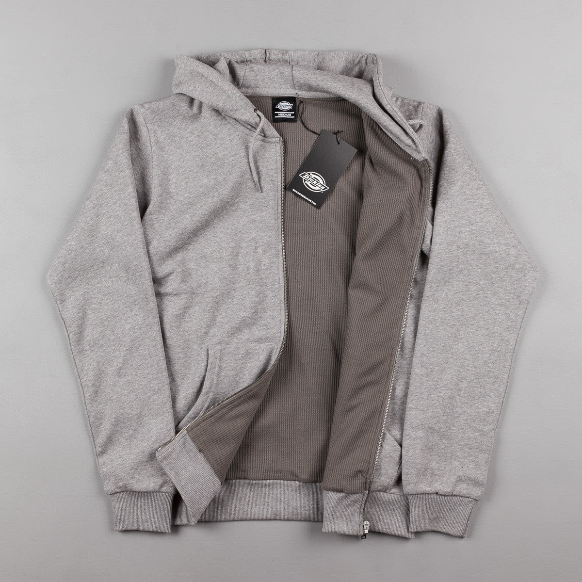 Dickies Kingsley Hooded Sweatshirt - Grey Melange