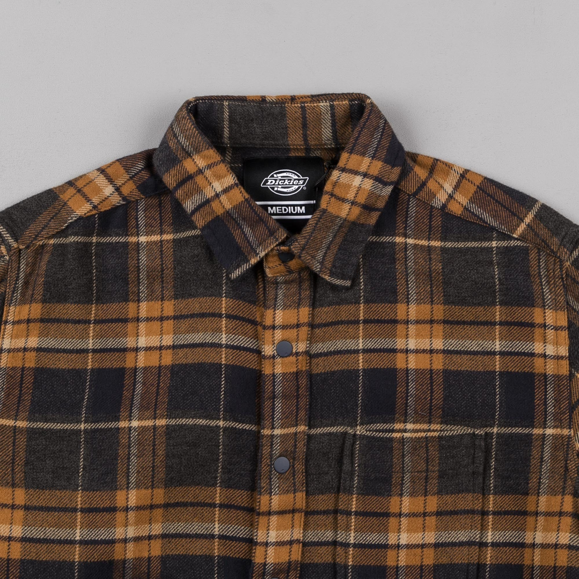Dickies Leesburg Shirt - Brown Duck