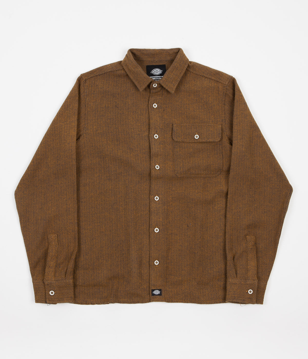 Dickies Lewisburg Shirt - Brown Duck