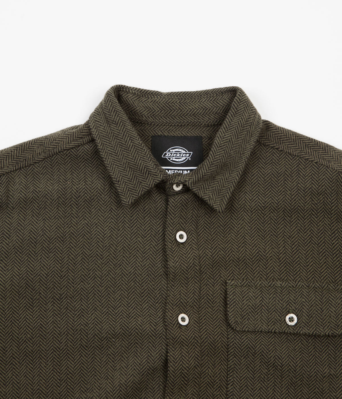 Dickies Lewisburg Shirt - Olive Green