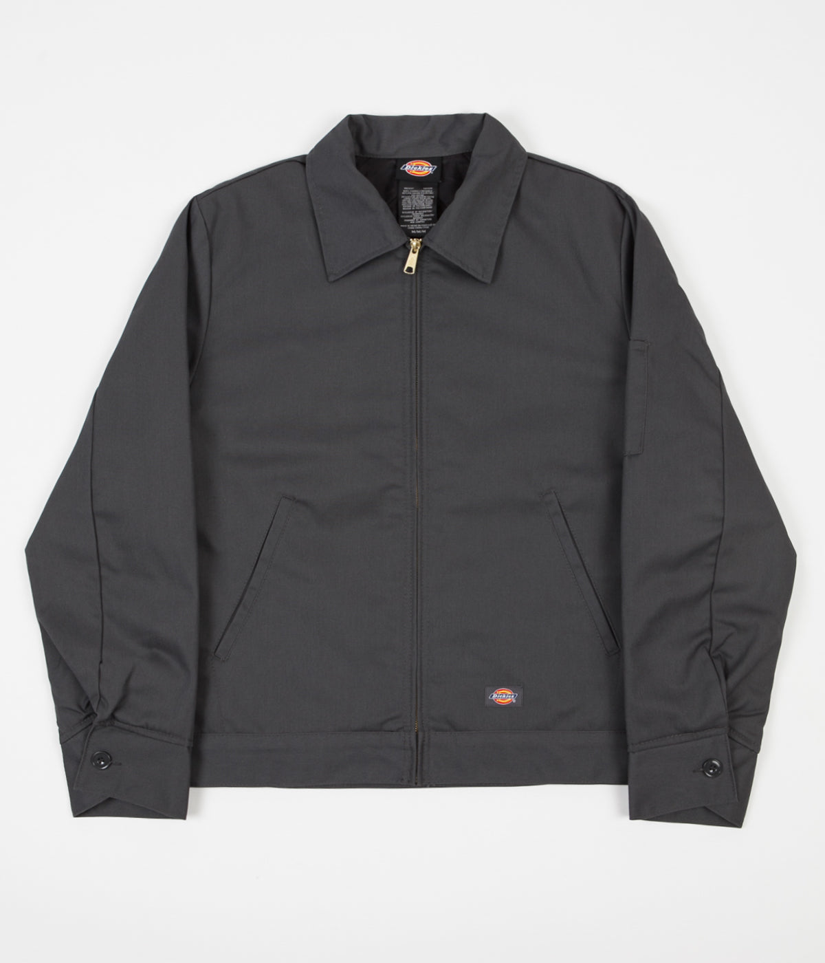 Dickies Lined Eisenhower Jacket - Charcoal Grey