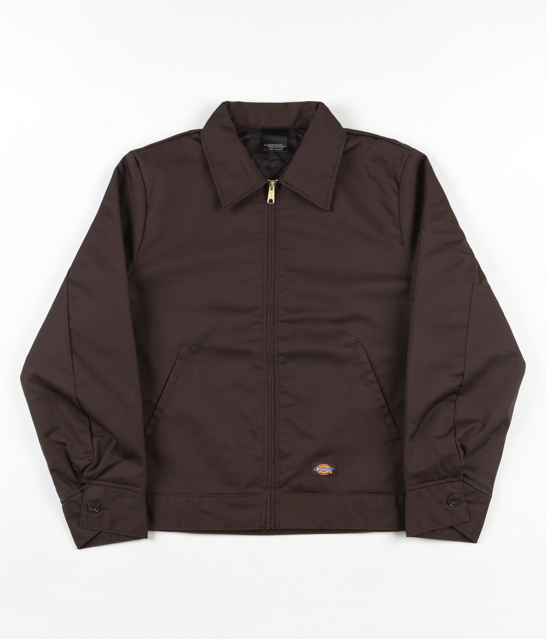 Dickies Lined Eisenhower Jacket - Dark Brown